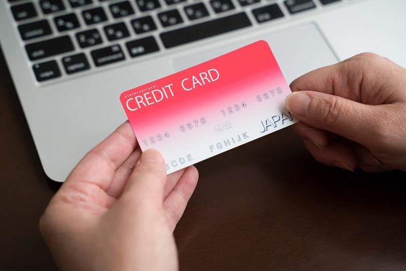 クレジットカード PC