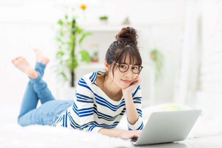 レンタルフレンド,女性,パソコン