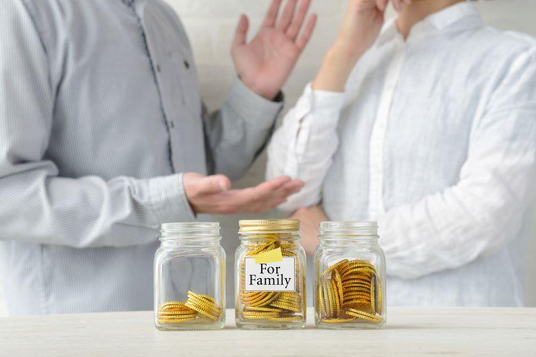 妻のほうが収入が多い,夫婦