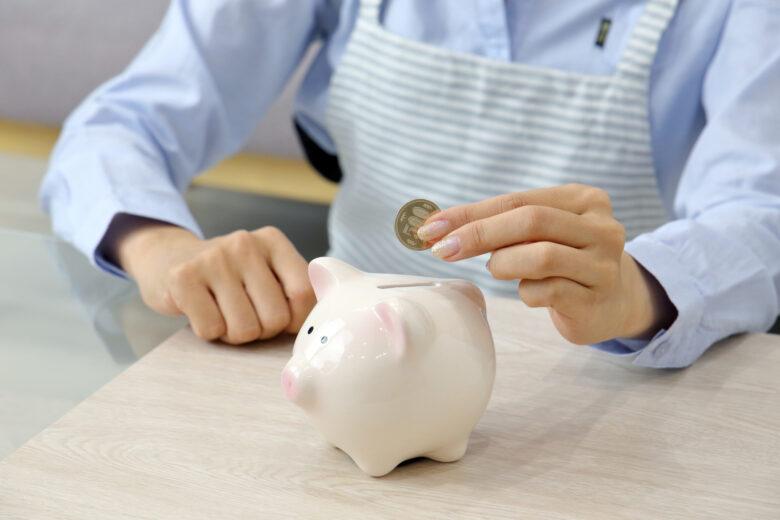 500円玉貯金,豚